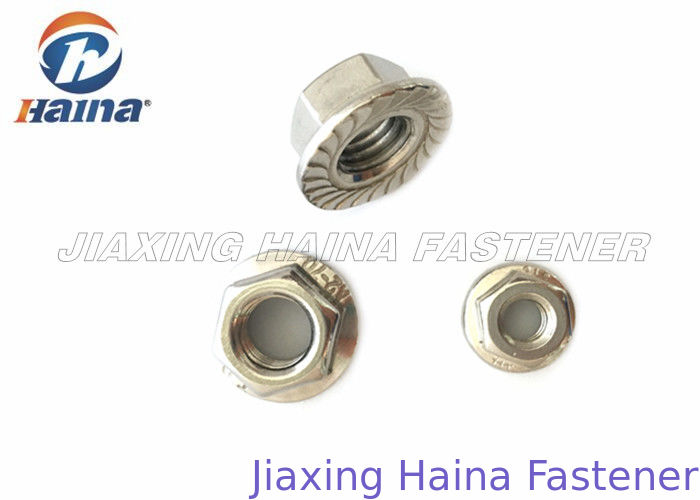 DIN 6923 Stainless Steel Flange Nut With Low Price And High Quality Stainless Steel Nuts