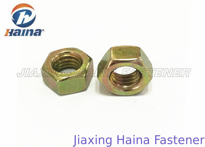 UNC Thread Hex Head Nuts M6 - M20 Cold Forging For Automobile Industry